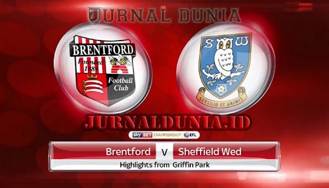 Prediksi Brentford vs Sheffield Wednesday , Kamis 25 Februari 2021 Pukul 02.00 WIB