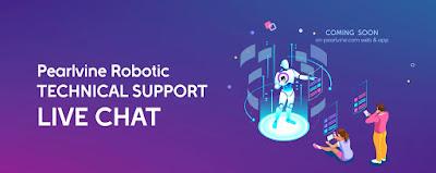 Pearlvine Robotic Technical Support.