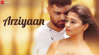 Arziyaan Lyrics - Shahid Mallya - Romantic Song 2019