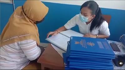 Penerimaan Rapor SMK TI Bali Global Badung