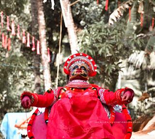 Bhadrakali Theyyam Images 5