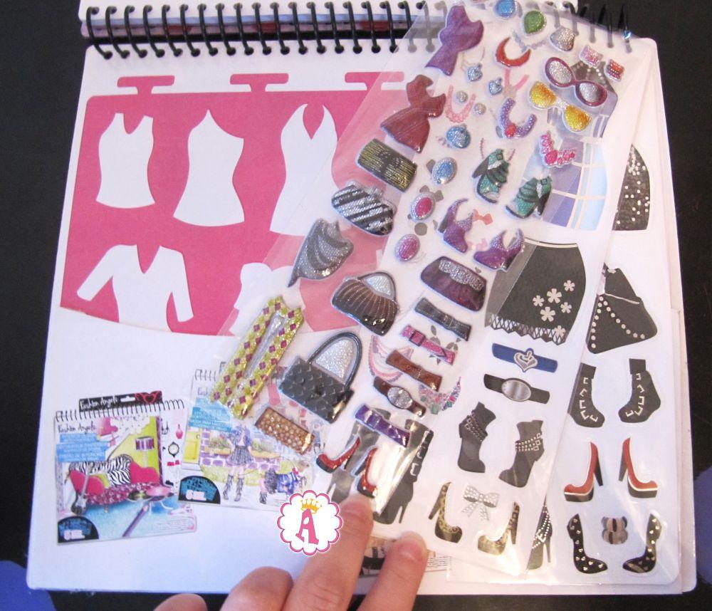 Наклейки и трафареты для дизайна одежды