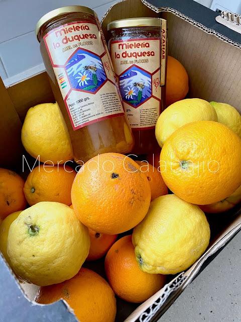 naranjas del valle de Lecrín