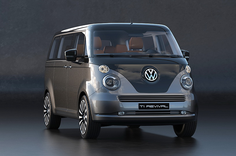 VW T1 Microbus Revival Concept Envisioned On T6 Platform