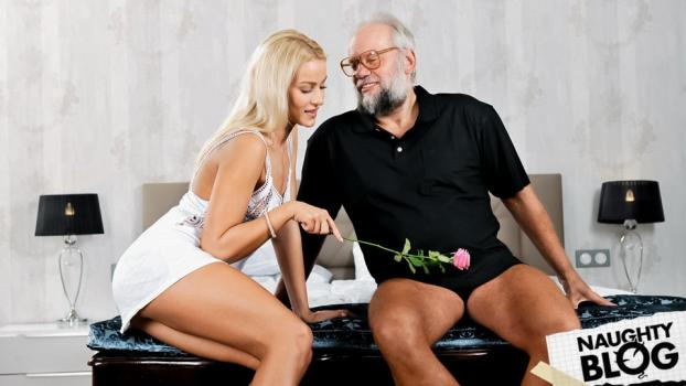 Grandpas Fuck Teens – Chary Kiss: Dreaming Of Grandpa