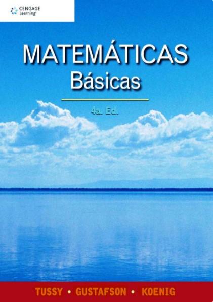 Matemáticas básicas 4ta Edición Alan S. Tussy en pdf
