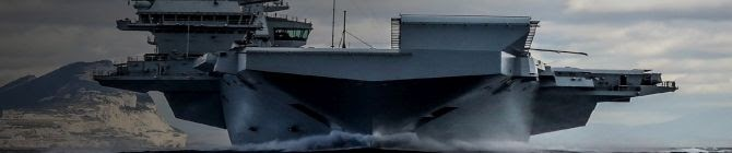 Queen Elizabeth Visits Aircraft Carrier Ahead of Maiden Deployment