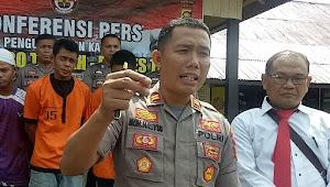 Polisi Ringkus Spesialis Pembobol Rumah Kosong di Tebo Tengah