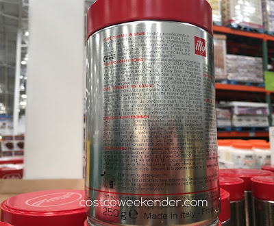Costco 329798 - Illy Whole Bean Coffee - for your caffeine fix