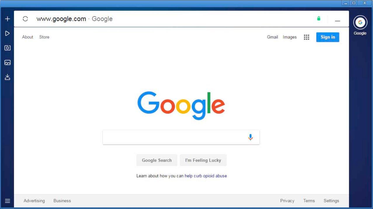متصفح الانترنت السريع