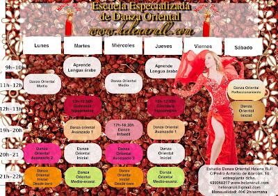 Os esperamos con las clases de danza del vientre en Granada