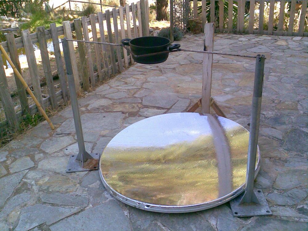 Como hacer un calentadorcocina solar