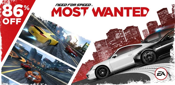 Need for Speed™ Most Wanted v1 0 46 Cracked Apk + SD Data