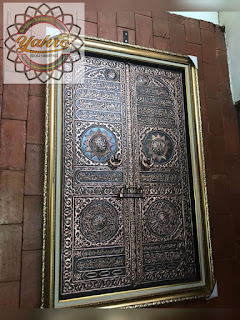 Replika Pintu KaBah Tembaga