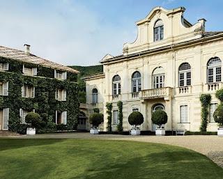 The Agnelli villa at Villar Perosa in Piedmont