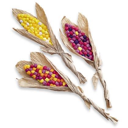 Paper Indian Corn Decorations