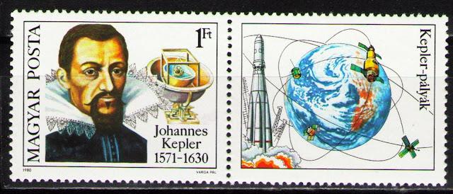 Hungary 1980 Johannes Kepler, German Astronomer