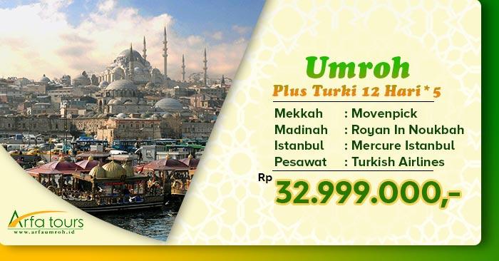 Umroh Plus Istanbul 2020 Arfa Tour