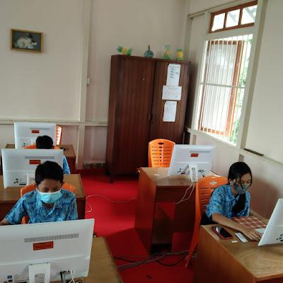 SMP Algo Siap Mensukseskan Asesmen Nasional Berbasis Komputer (ANBK) Tahun 2021