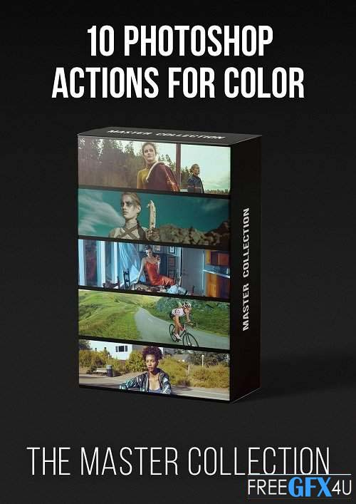 Master Collection 10 Photoshop Actions For Color