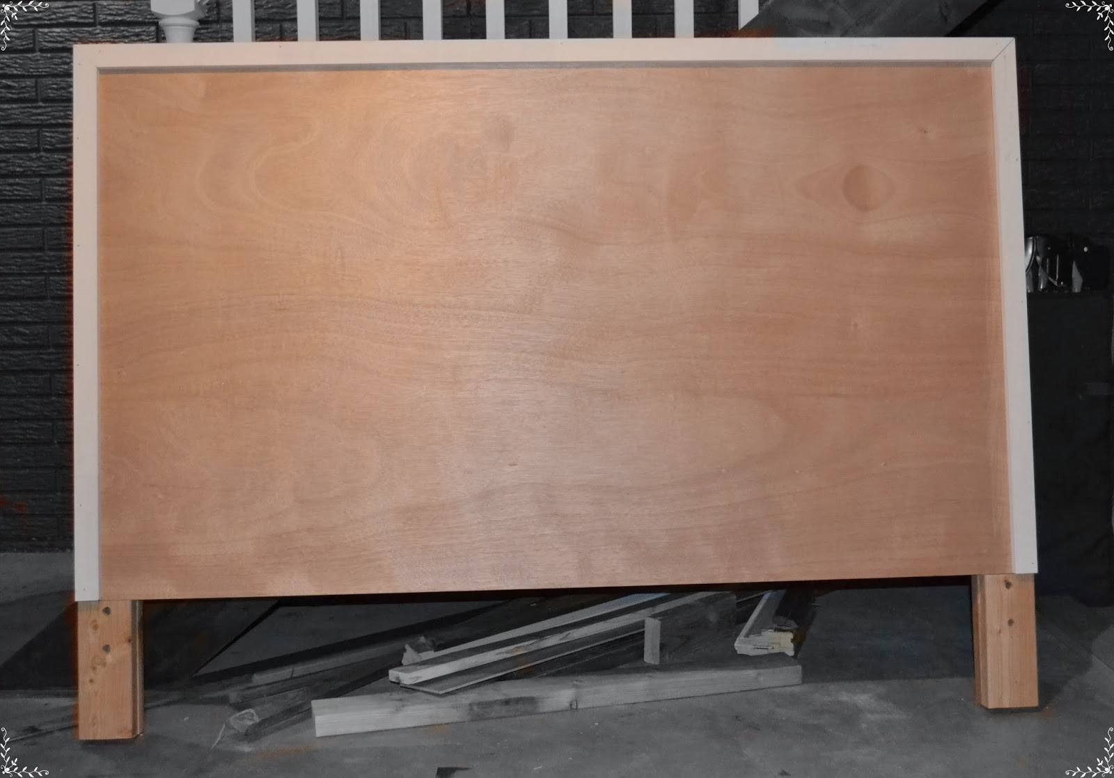 A Day In Our Life Diy Hollow Core Door Headboard