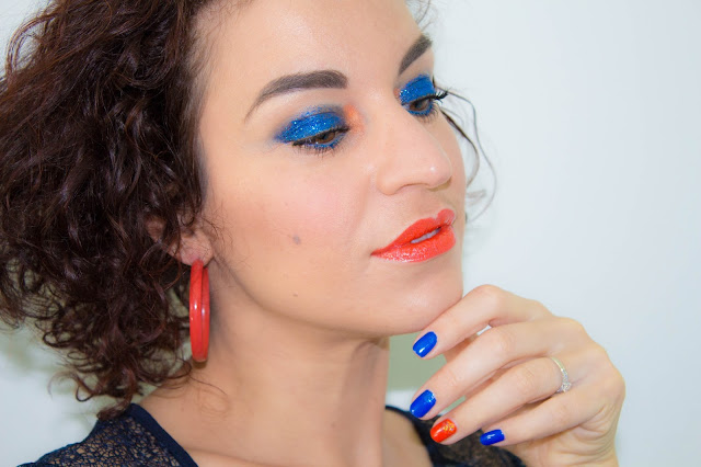 maquillage-bleu-orange