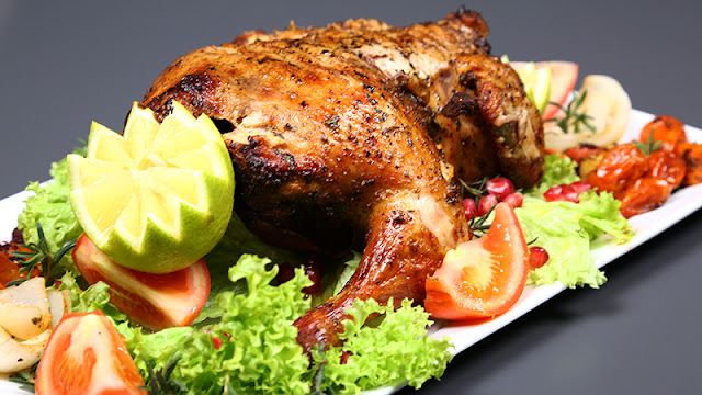 دجاج محشي بالخضار من مطبخ سيدتي وبالهنا