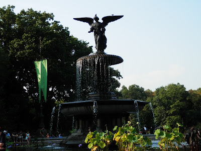 lieu de tournage Fontaine Bethesda Central Park