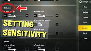 Settingan Sensitivitas Seperti Pro Player PUBG Mobile