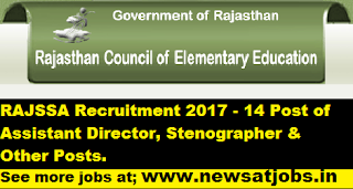 ssa-rajasthan-assistant-Recruitment-2017