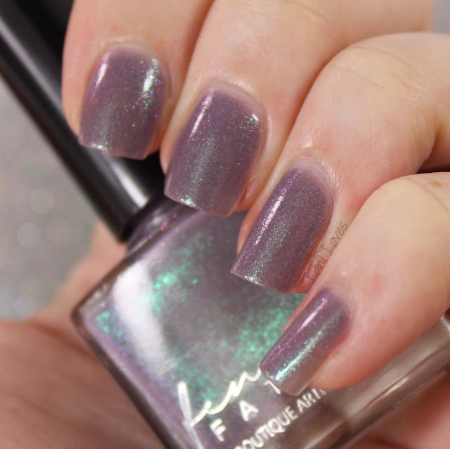 Femme Fatale Cosmetics La Scala nail polish swatches & review