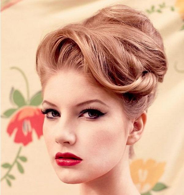 Vintage prom hair styles