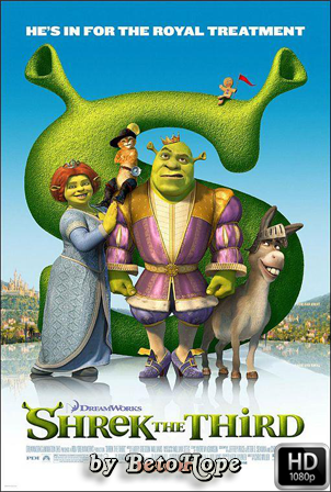 Shrek 3 [2007] [Latino-Ingles] HD 1080P  [Google Drive] GloboTV