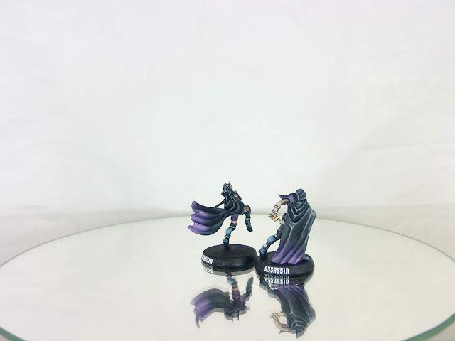 forge world Naggaroth Nightmares Dark Elf Assassins