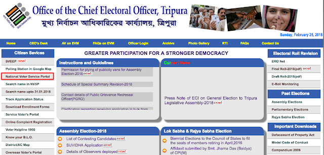 National Voter Service Portal