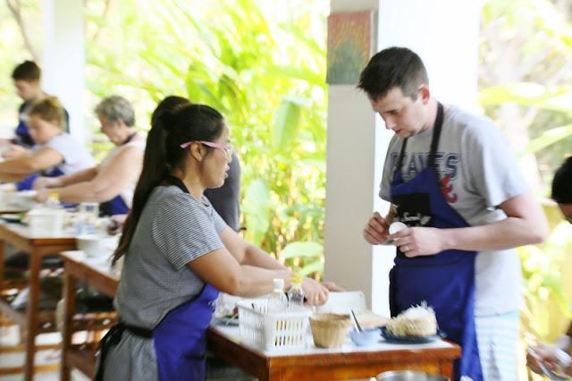 Thai Cooking Class Photos Chiang Mai Thailand 2018