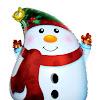 Balon Foil Snowman / Foil Manusia Salju
