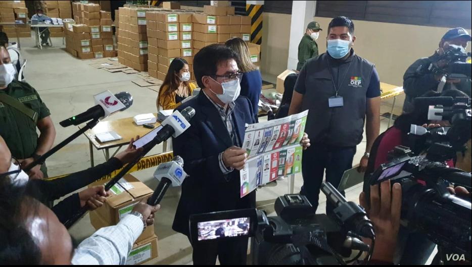 Bolivia se prepara para los comicios presidenciales previstos para el próximo 18 de octubre de 2020 / FABIOLA CHAMBI / VOA
