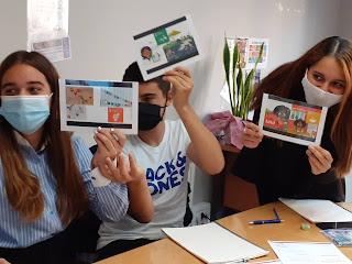 La Judith,la Yasmin i el Dani membres del CPA