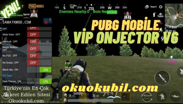 Pubg Mobile Vip Injector v6 + ESP Aimbot, Tam Antiban Hileli APK