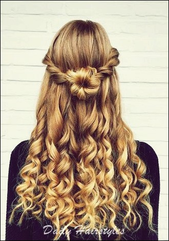 6 Cool Prom Hairstyles Half Up Half Down , Daily Hairstyles