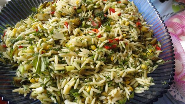 Barley Noodles Salad