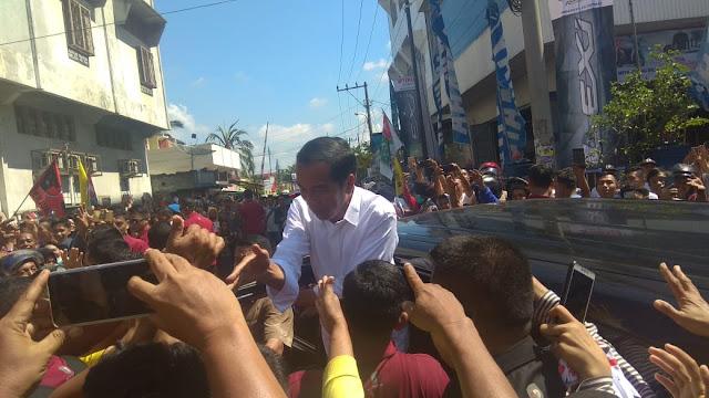 Jokowi Optimis 70 Persen Suara Asahan