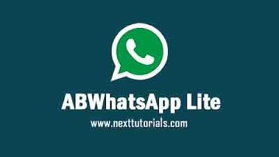 Download ABWhatsApp Lite V2.10 Apk Latest Version Android,Aplikasi ABWA Lite v2.10 Terbaru 2020,tema whatsapp mod keren 2020,wa mod anti banned