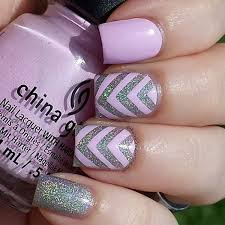 Nail Art Chevron