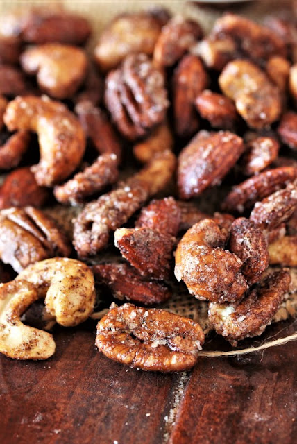 Chai-Spiced Mixed Nuts Image