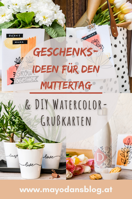 DIY Watercolor-Grußkarten