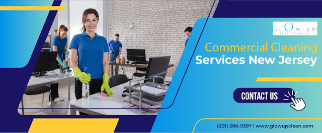 Now get high-quality commercial cleaning services at affordable pricing across New Jersey. Glow up clean is a cleaning service provider that offers exceptional commercial cleaning services New Jersey. We have expert cleaners with high-quality cleaning supplies; they will ensure standard cleaning in affordable cleaning service packages. Our service is highly secure and reliable.