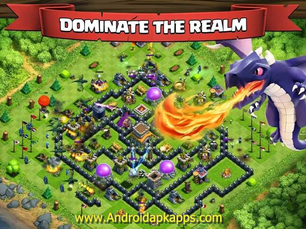 Clash of Clans v7.65.5 Mod Hack APK (Unlimited Gold Infinite Gems Dark Elixir) Update Terbaru 2015 Gratis Free Download