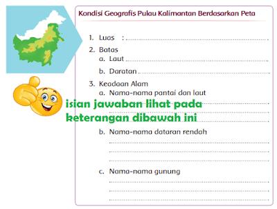 Kondisi Geografis Pulau Kalimantan Berdasarkan Peta www.simplenews.me